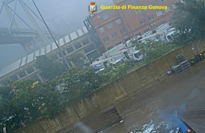 Ponte Morandi: video inedito del crollo