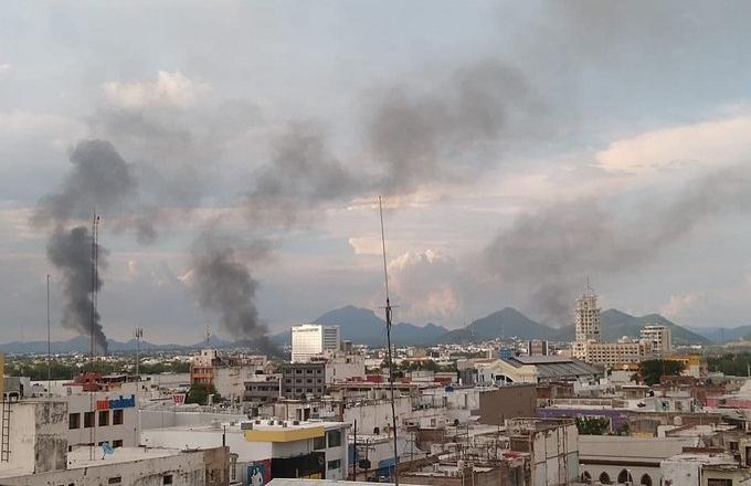 Messico, la battaglia di Culiacan