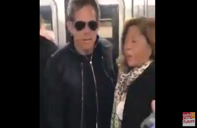 Ben Stiller in metro